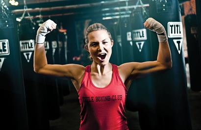 Melissa - TITLE Boxing Club