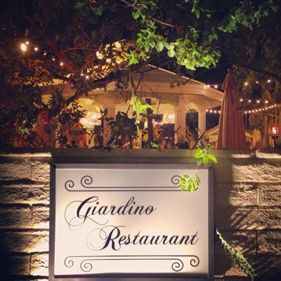 Hidden Gem- Giardino Restaurant