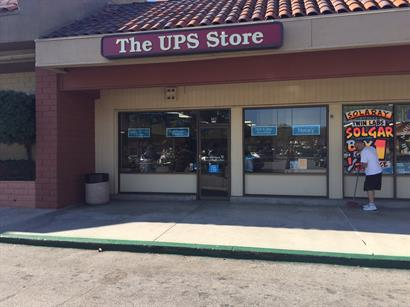 Front of the store.
