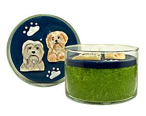 Unique Puppy Candle