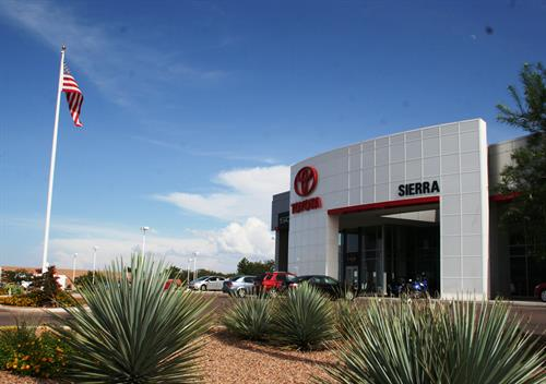 Welcome to Sierra Toyota
