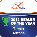 2014 Dealer Rater Arizona Dealer of the Year