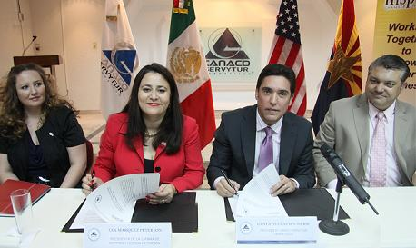 THCC and CANACO signing collaborative agreement