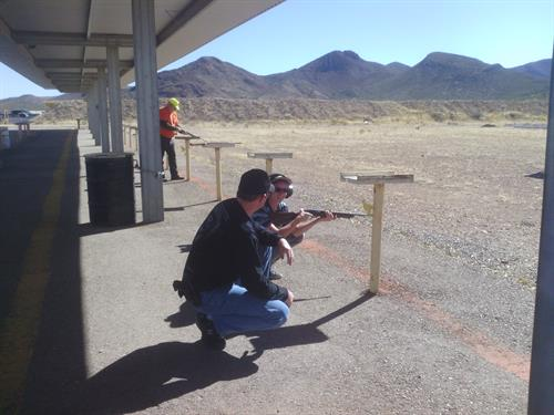 Junior Rifle Shoot