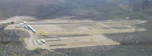 Aerial view of Sierra Vista Shooting Range