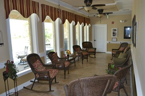 Assisted Living Sun Room