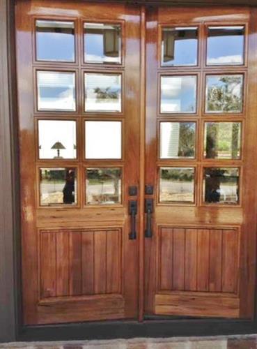 Door Refinish