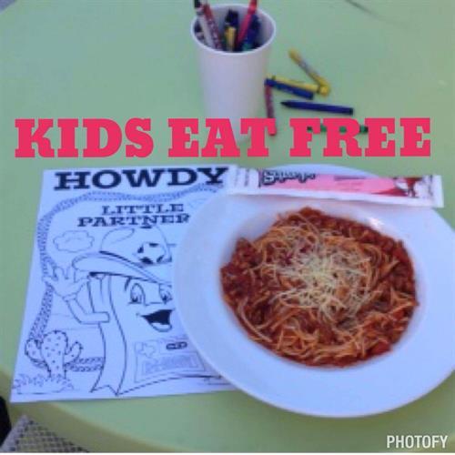 Kid Eat Free Thursdays - All Day!