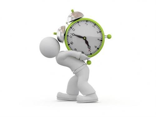 Is Lack Of Time A Burden To You?