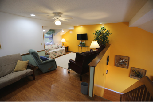 2nd level living area