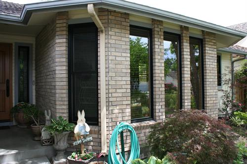 "Andersen metal Clad ""E""Series windows in Black"