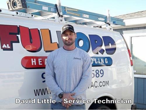 David Little- Lead Service Tech