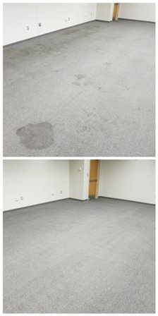 Carpet cleaning - Spot free carpet