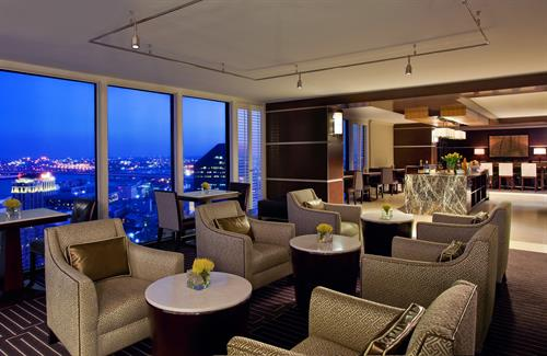 Enjoy breathtaking views from the Sheraton Club