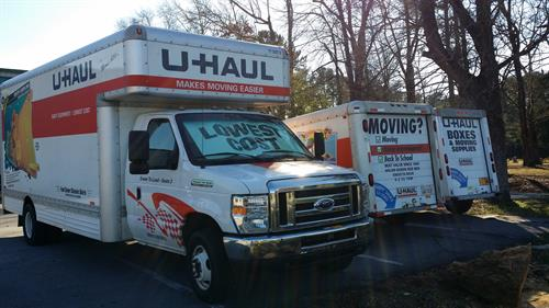 UHaul Truck & Trailer Rentals always available for you!