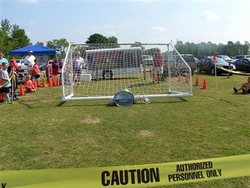 Sports Safety Goal Toppling Demo