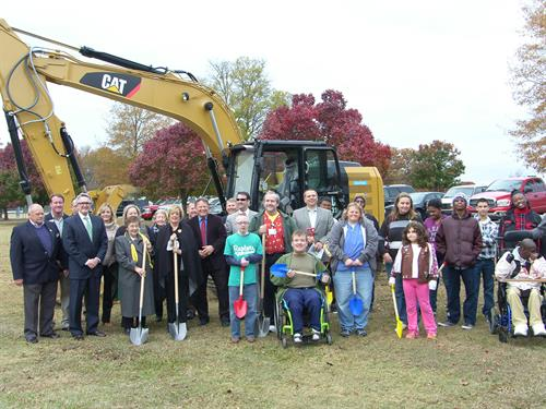 Groundbreaking for Inclusion Park