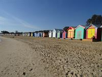 Brighton Beach Bathing Boxes- Melbourne, Australia