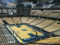 Better view of the 15,000+ shirts during our GOLD out in Memphis