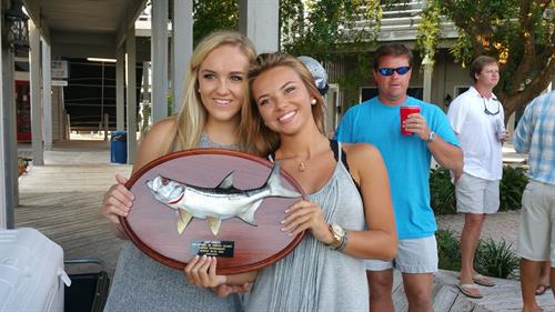 Lady Angler Award winners of 6th Annual Tarpon / Bull Red Drum Tournament