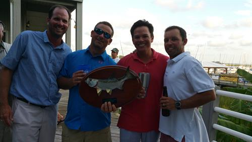 3rd Place winners winners of 6th Annual Tarpon / Bull Red Drum Tournament