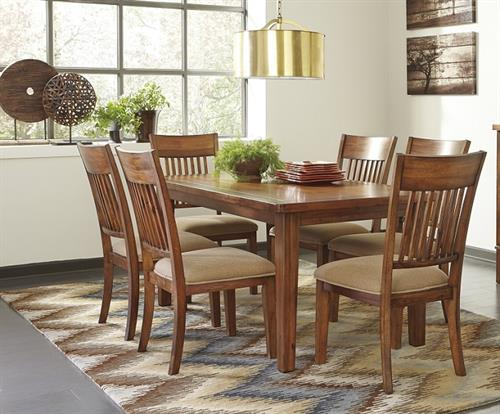 Dining Sets with Upholstered seating at Spencer Furniture, Spencer, MA