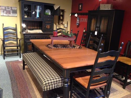 Amish Made Dining Sets - Primitive Shoppe at Spencer Furniture in Spencer, MA