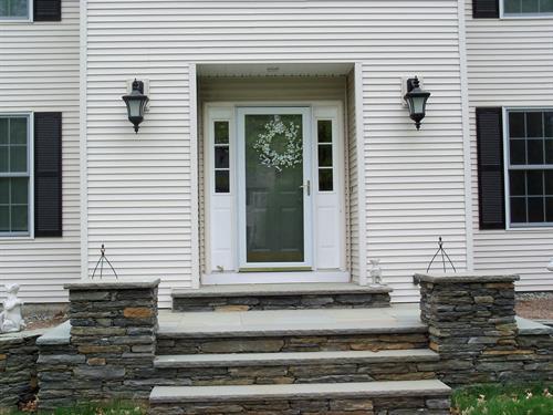 Original entryway