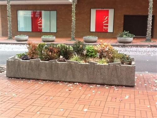 City of Portland Streescape Planters