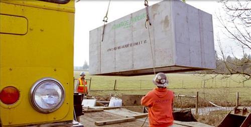 ODOT Box Culvert Hwy 213 Emergency Repair