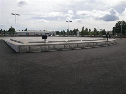 Capitol Toyota Parkway Display Platform