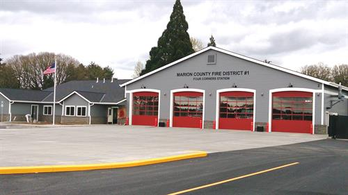 New 2014 Fire Station - MCFD#1 Headquarters