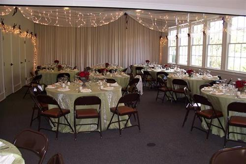 Events room for wedding and variety of other events