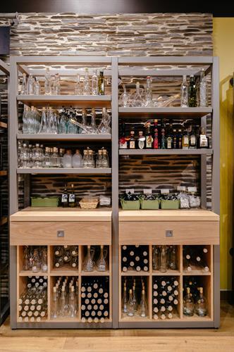 Elegant bottles for your favorite oils and vinegars