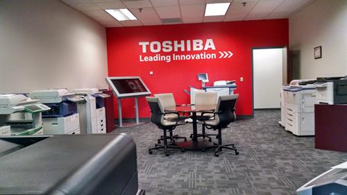 Toshiba Hardware Showroom