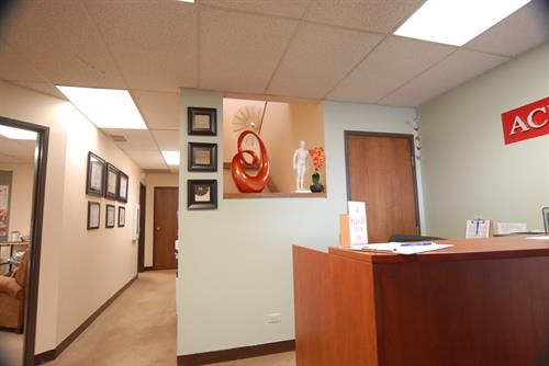 Front area/reception desk