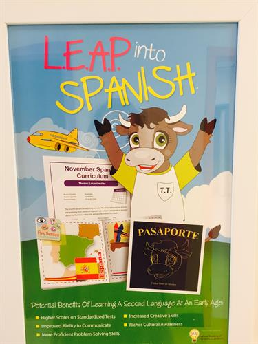 LEAP into Spanish offered in all classrooms
