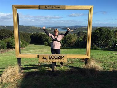 Ziplinig in New Zealand
