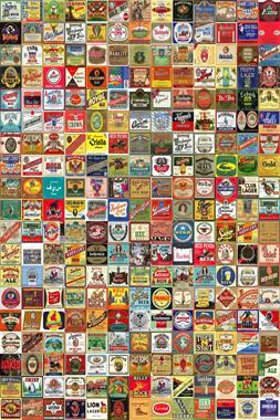 Beer Label Montage