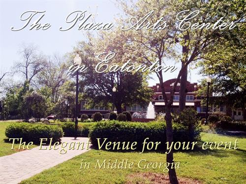 The Plaza Arts Center is your elegant event venue choice in Middle Georgia