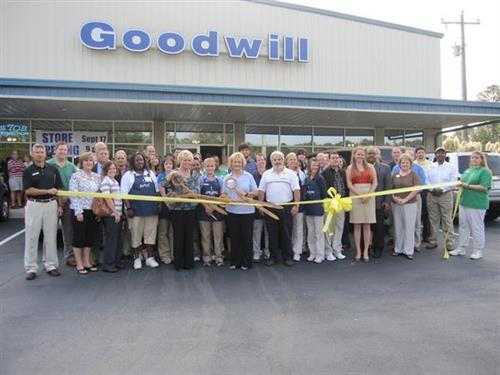 Goodwill store grand opening