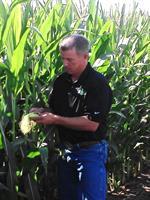 Jared Checking Corn