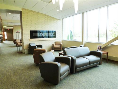 Meriter Monona waiting area
