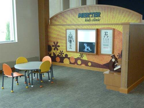 Meriter Monona kids' waiting area