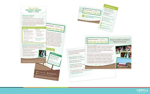 Print Collateral for Monroe County Schools