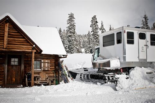 Snow cat Cabin