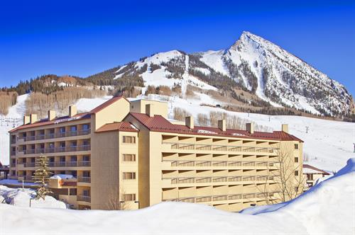 Elevation Hotel & Spa is the only ski-in/ski-out hotel located at the base of Mount Crested Butte