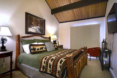 Our condos offer a variety of bed arrangements.
