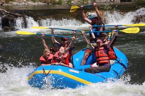 Gunnison River family rafting is a blast!