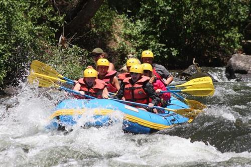Whitewater rafting is for everyone!